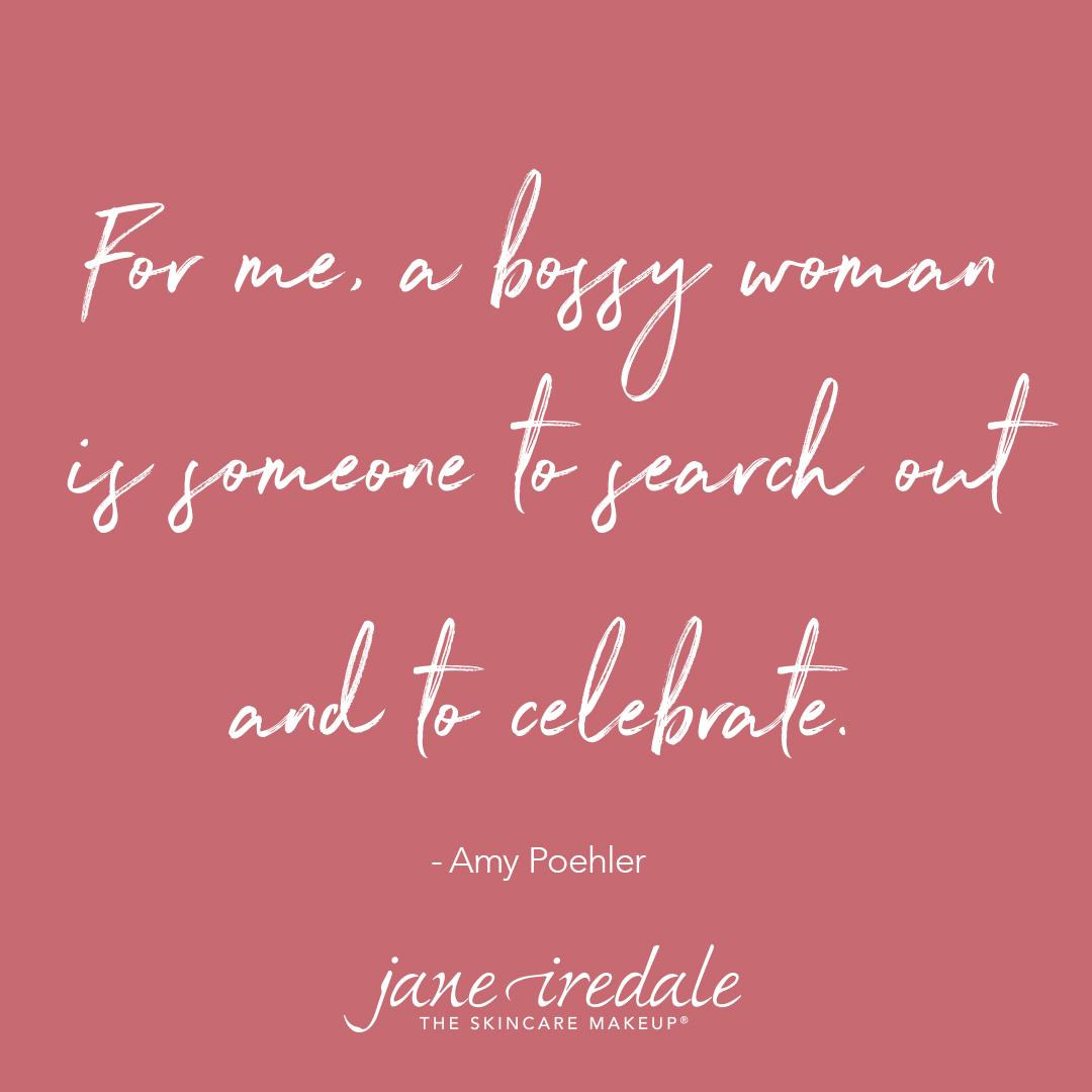 Celebrate bossy women today and every day! Happy birthday, Amy Poehler!