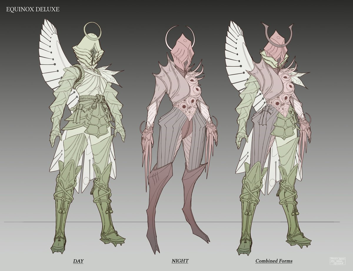 warframe on twitter new equinox deluxe concept art is here do you