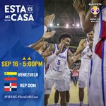Importantísimo juego. ¡Contamos con tus buenas vibras! #VamosDOM🇩🇴 #FIBAWC @BanReservasRD @JetBlue @CrisolRD