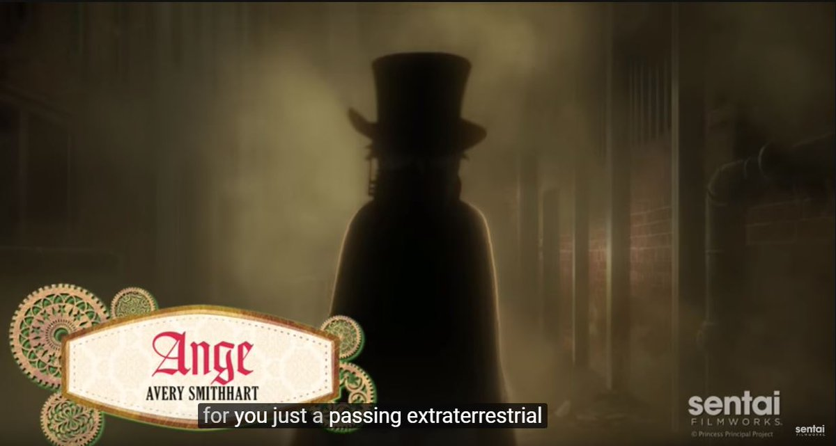 "#pripri アンジェの「通りすがりの宇宙人」は英訳だと""Just a passing extraterrestria"