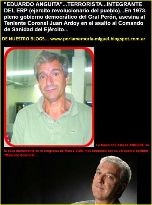#mauroenamerica = AgUantaDeRo Tv ... AGUANTADERO de ... TERRORistas Criminales COMUNISTAS SubVERSIVOS ASesinos CHORROS DeliRaNteS MENTIDORES FaBuLaDoreS HAMPONES ,,,el MAS DeScomunaL REJUNTE de MAFIA DanDo cátedraS de Democracia y Derechos Humanos por Tv Foto