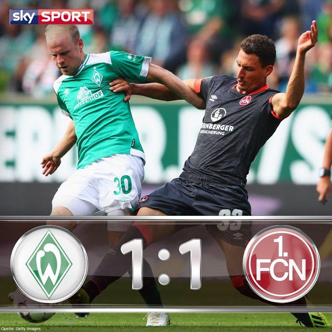 Nürnberg flippt aus: Club macht in letzter Minute den Ausgleich Liveblog mit Stimmen & Fakten: #skybuli #svwfcn Foto