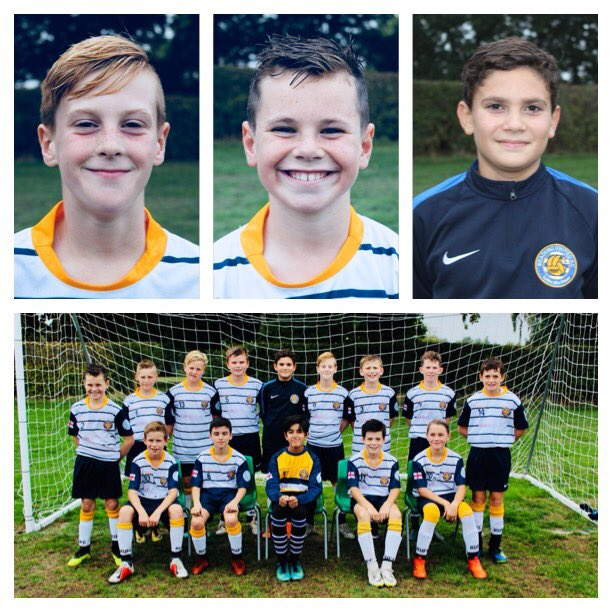The U12s have stayed top of the table after a hard fought 3-0 win this morning. Santamarina-Muka, Taplin and Simpson scoring for The Biscuitmen 🍪 Foto