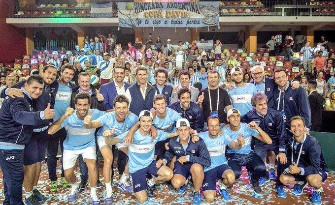 #CopaDavis 🎾Horacio Zeballos se llevó el cuarto punto de la serie de Copa Davis ante el colombiano Nico Mejía. Fue 7-5, 6-2 y 4 a 0. ▶️ Foto
