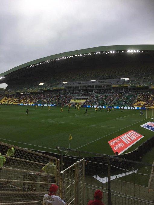 Match nul 0-0 mais on était présent ! 🔴⚪ #PartoutToujours #FCNSDR Photo