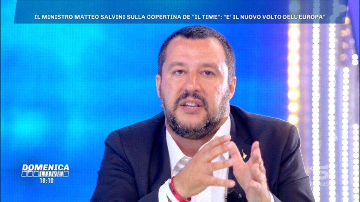 #Salvini: voglio un'Italia e un'Europa dove dopo 41 anni di duro lavoro si possa andare in pensione. Questo anche nell'ottica di garantire un futuro ai giovani, che possano tornare a fare figli. #DomenicaLive  - Ukustom