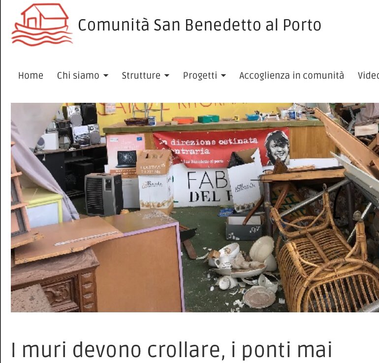 #genovanelcuore I muri devono crollare, i ponti mai. LEGGI: http://sanbenedetto.org/2018/09/14/i-muri-devono-crollare-i-ponti-mai/  - Ukustom