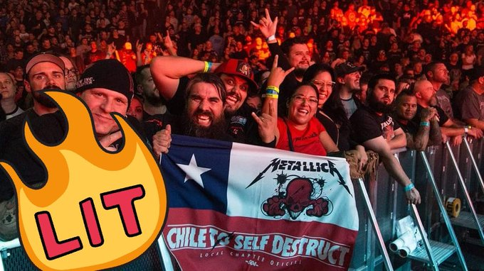 We made it onto the @Metallica official #MetInSaskatoon recap photos on their website. Photo