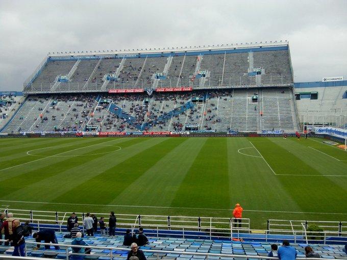 Ya me encuentro en el estadio José Amalfitani para #Velez - #SanMartinT Foto