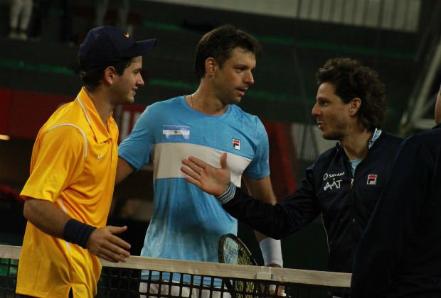 Copa Davis   Horacio Zeballos venció a Nicolás Mejía y selló el triunfo de Argentina Foto