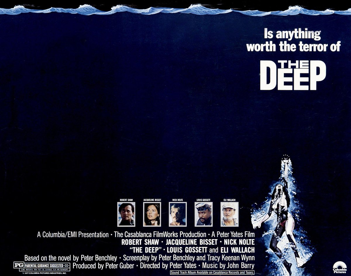 """Sony Movie Channel on Twitter: """"THE DEEP (1977) with Robert Shaw ..."""