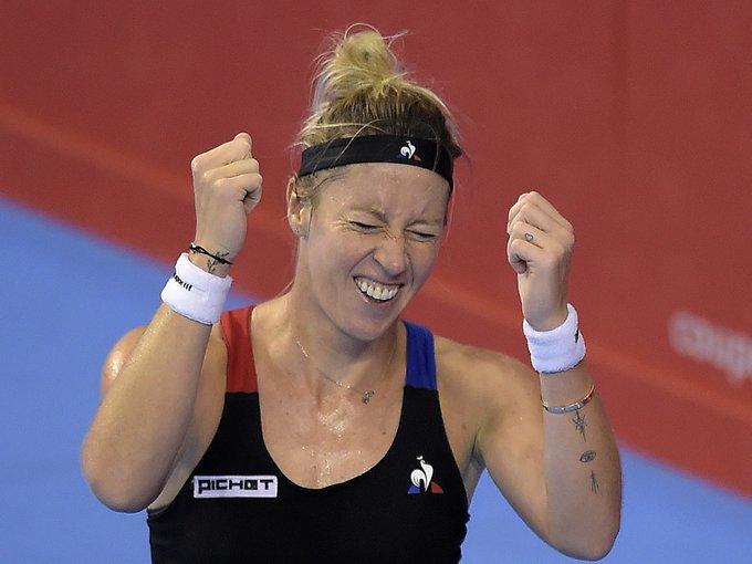 Tennis : Pauline Parmentier couronnée à Québec Photo