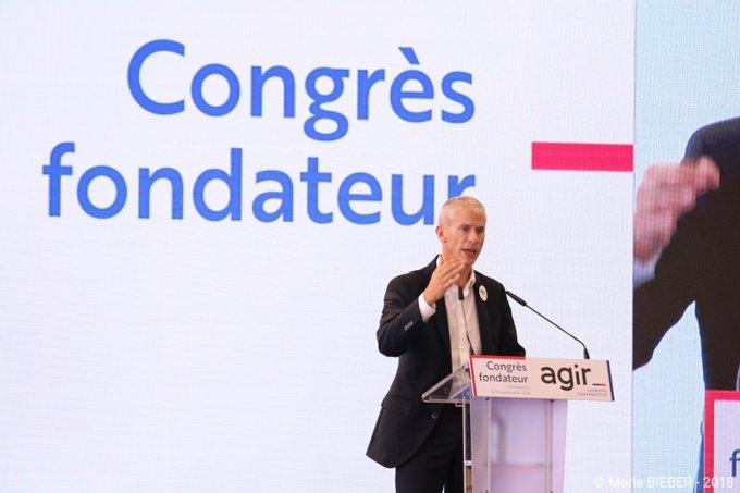 «Nous ne laisserons pas les populistes confisquer la droite !» @franckriester #CongrèsAgir #JePrefereAgir Photo