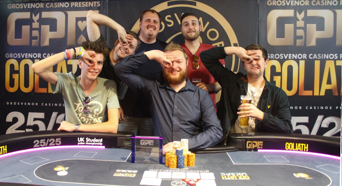 Grosvenor poker tour 2018 tops casino bank