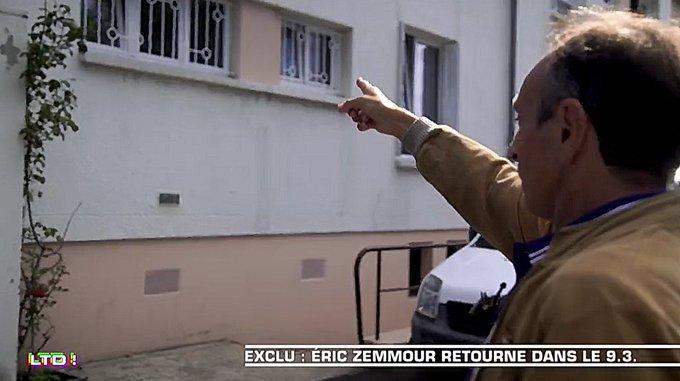 #LTD Eric Zemmour a accepté pour @lesterriens de revenir sur les traces de son enfance dans le 93. Premier étape Drancy. Deuxième étape, Zemmour ado a vécu dans le 18ème arrondissement de paris Photo
