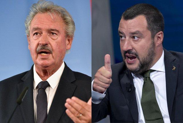 """Il ministro degli Esteri del #Lussemburgo, Asselborn, attacca Salvini: """"Usa metodi fascisti"""". La replica: """"È un ignorante senza argomenti. Se gli piacciono, si tenga i migranti."""" Stasera la cena con Berlusconi.Tra poco nel #Tg2 delle 20.30  - Ukustom"""