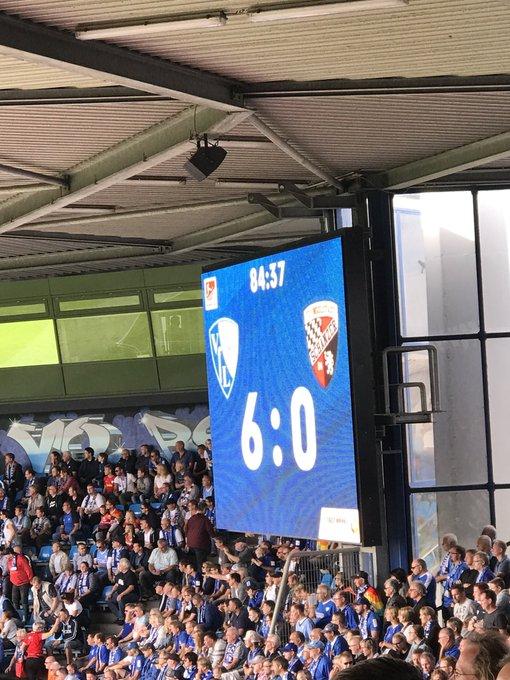 #BOCFCI Was war das heute für ein Spiel Leude, 6:0, das gabs das letzte Mal vor 7 Jahren. Ganz großes Spiel heute!⚽️💙 Foto