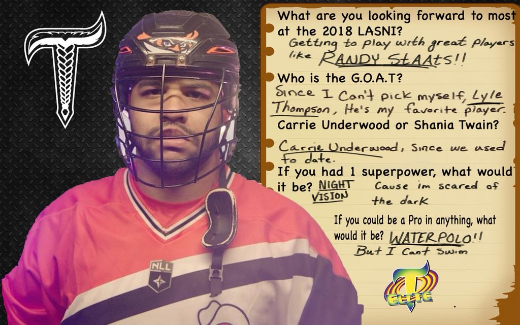 Time to start announcing our 2018 #TBLElite roster.. 1st on deck, the great one @dhanesmith92 .. A lot of fun facts here, Dhane is scared of the dark, can't swim and used to date @carrieunderwood Get to know #TBLElite