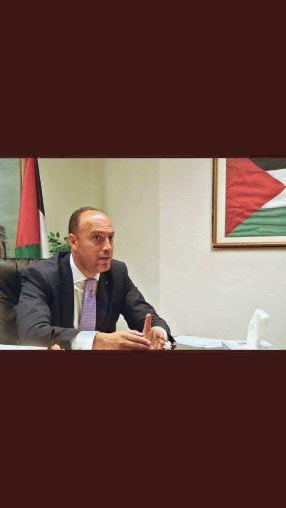 #واشنطن تلغي إقامة السفير الفلسطيني وعائلته .. وتغلق حساباته المصرفية.