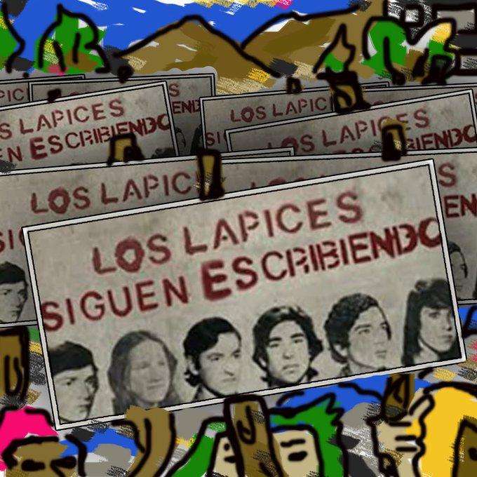 A 42 años del nefasto hecho conocido como #LaNocheDeLosLapices seguimos luchando por la educación de nuestro país y por la memoria de los estudiantes desaparecidos #LosLapicesSiguenEscribiendo Foto