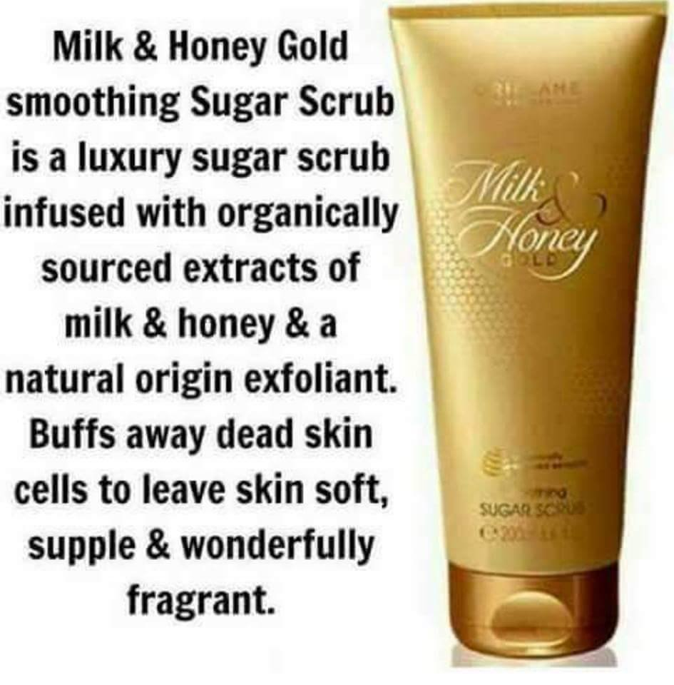 Panache Grooming On Twitter Oriflames Milk Honey Gold Sugar Scrub Infused With Organically Sourced Extracts Of And A Natural Origin Exfoliant Buffs Away Dead Skin Cells To Leave Soft