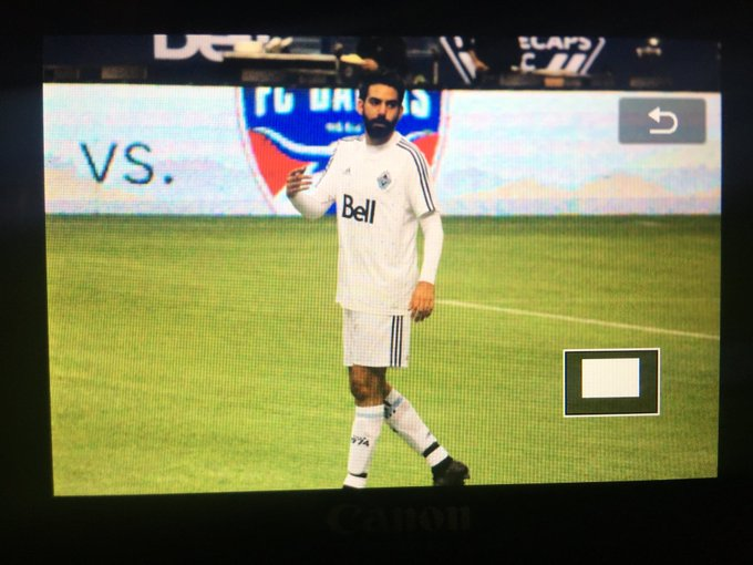Some photos I took of @RahulKohli13 at the @WhitecapsFC charity match yesterday. #IZombie #VWFC Photo