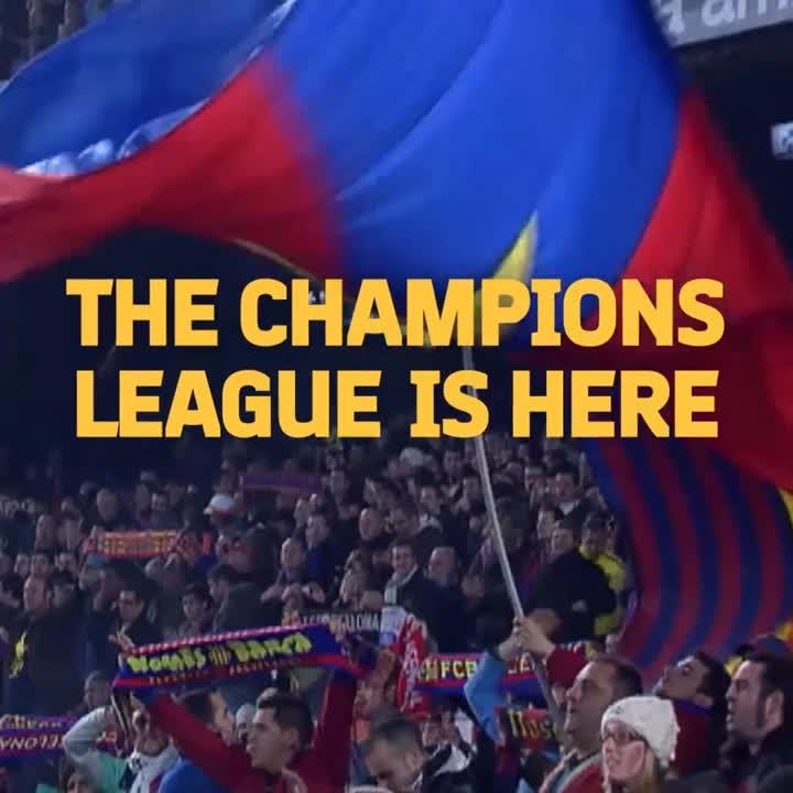 �� ¡Vuelve la @LigadeCampeones!  �� Ellos están listos, ¿y tú? #BarçaPSV  �� ENTRADAS �� https://t.co/bmC8s71LQe https://t.co/xpCUCfePqX
