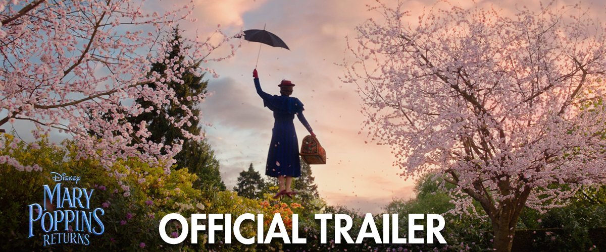 On December 19, the story continues. Watch the all-new trailer for #MaryPoppinsReturns now.