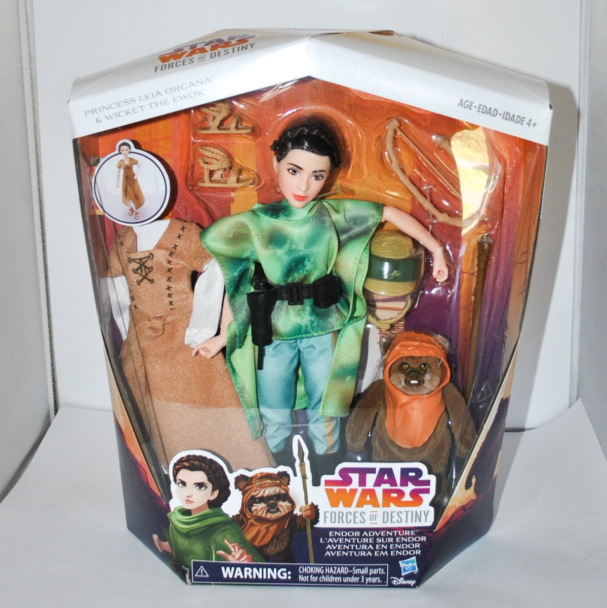 Star Wars Forces du destin Princesse Leia Organa /& Wicket Ewok Endor aventure