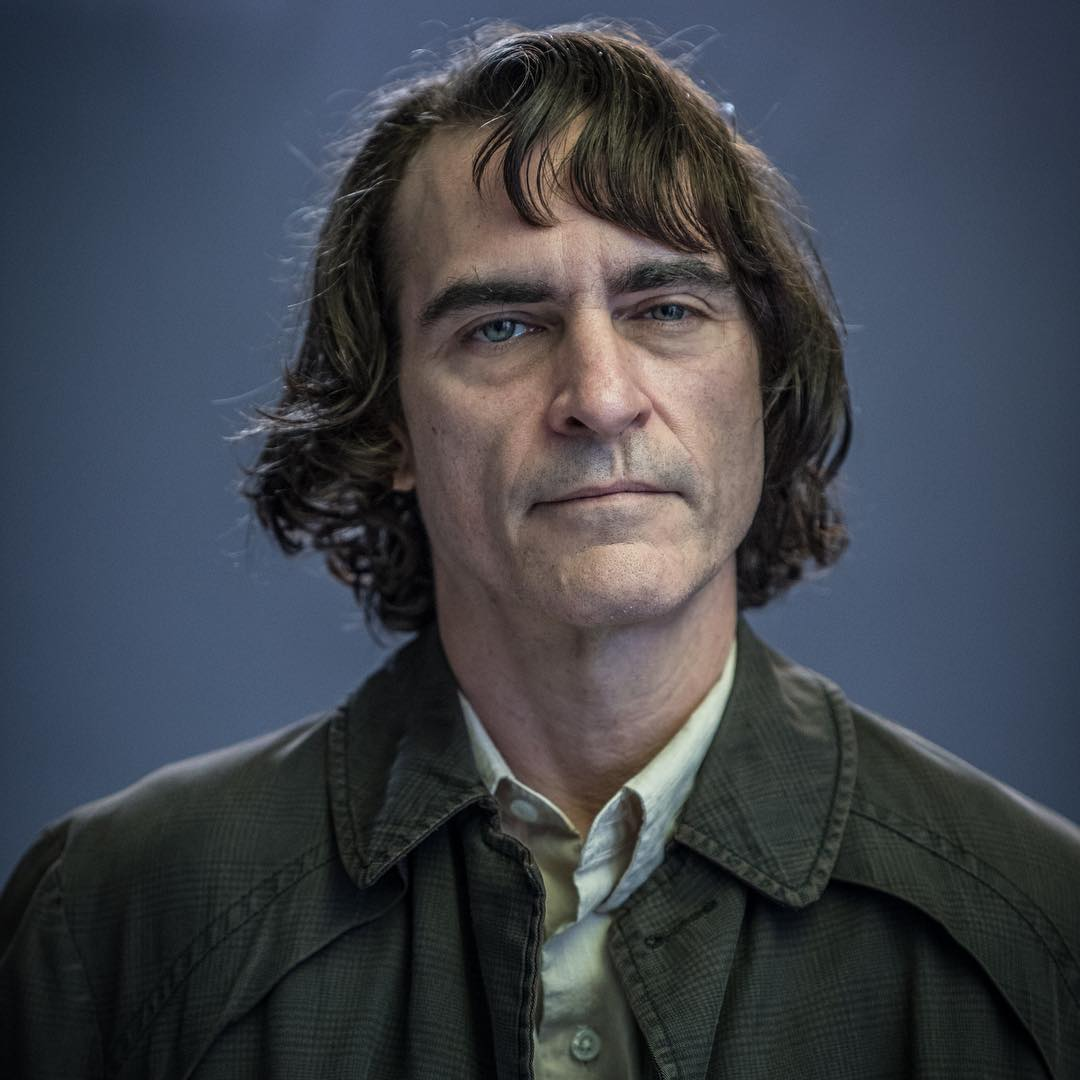 "Todd Phillips has shared our first look at Joaquin Phoenix as ""Arthur"" aka the #Joker"