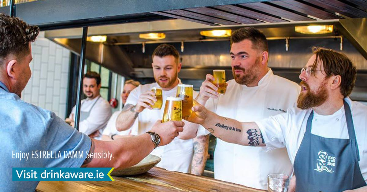 Win a case of Estrella Damm! To celebrate the @FoodOnTheEdge event in Galway on October 9th & 10th, tell us a creative way to cook with Estrella Damm & you could win! https://t.co/XIDhw08nfZ https://t.co/StzpMw3IQK