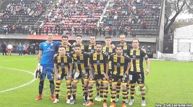 #BNacional | #Santamarina | El cuadro de Tandil no pudo ante Defensores de Belgrano y alargó su racha negativa como visitante. Foto
