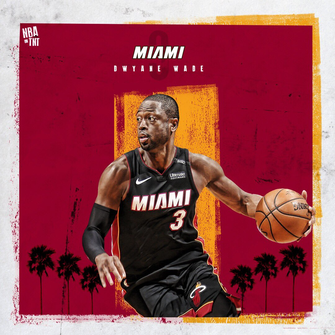 """He's baaaaack! ��  @DwyaneWade has announced that he's returning to the @MiamiHEAT for """"one last dance."""" https://t.co/GSJZzDMWTf"""