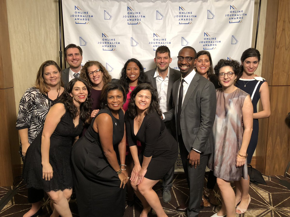 These folks deserve so much credit and appreciation for their hard work on our amazing @ONAConf. This is Team @ONA, and I'm so proud to serve on their Board, to be their colleague, but most of all to call them my friends.  #ONA18 #OJA18 <br>http://pic.twitter.com/yHNQKG5YGU