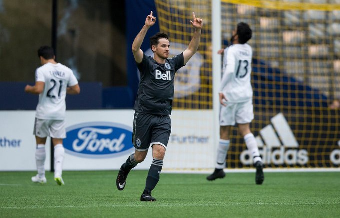 "PSA: This celebration is now *officially* James the ""The Captain Hook"" #VWFC Photo"