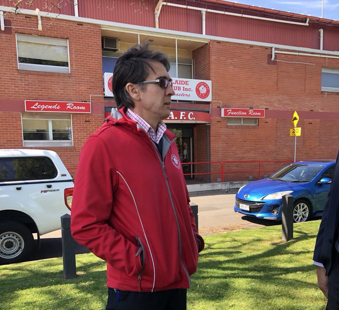 Roosters chief executive Greg Edwards has slammed talk North Adelaide tried to cheat during the preliminary final. He believes there was an accident during an interchange and the club rectified the situation. They expect to play Norwood in the Grand Final. #SANFL @TenNewsADEL Photo