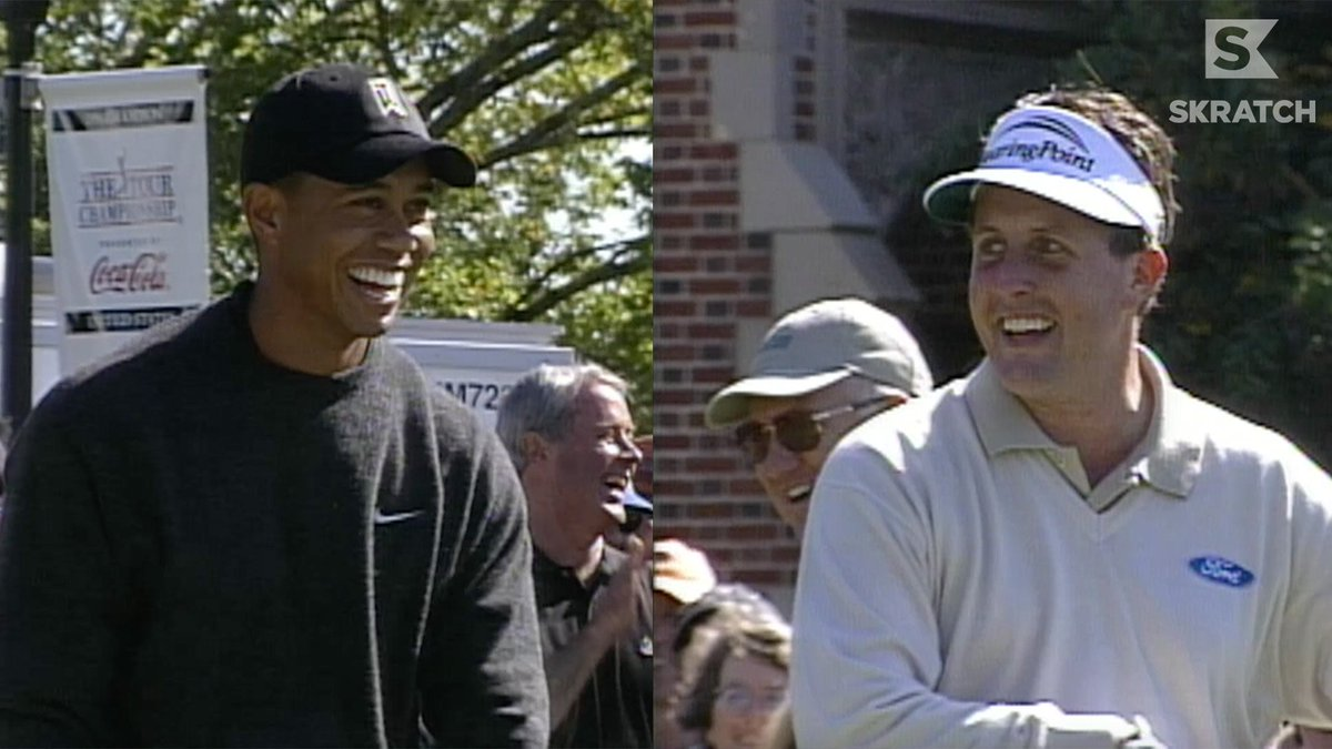 An unforgettable Tiger/Phil moment from East Lake in 2002.