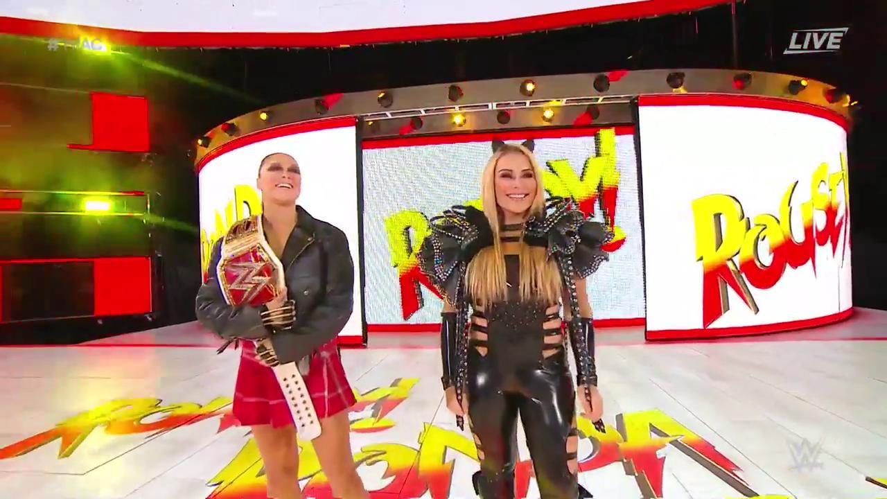 Time to get ROWDY on @WWENetwork as @RondaRousey gets set to defend her #RAW #WomensTitle at #HIAC! https://t.co/GeubZe6t6m