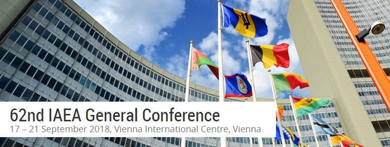 Starts on Monday @UN_Vienna: @IAEAorg, 62nd General Conference. Info & documents here ➡️ iaea.org/about/policy/g…
