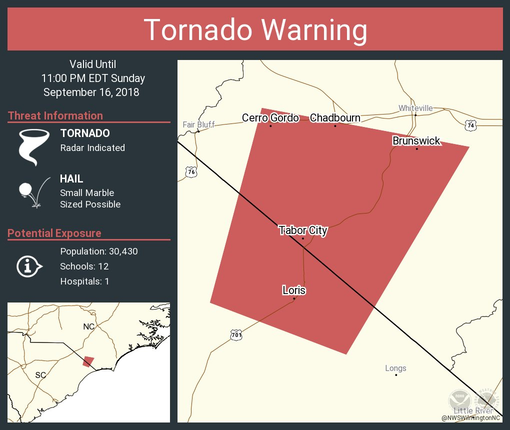 Tabor City Nc Map.Nws Wilmington Nc On Twitter Tornado Warning Including Tabor City