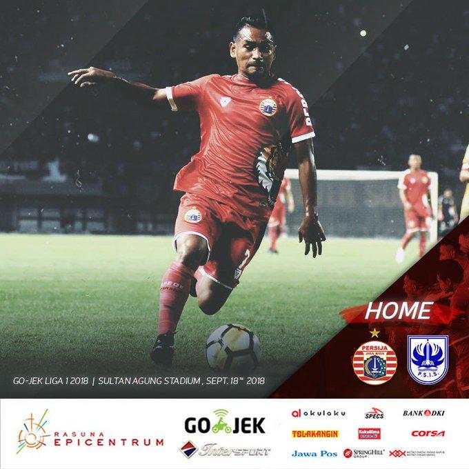 Next Match: Persija Jakarta vs PSIS Semarang Stadion Sultan Agung, Bantul Selasa, 18September 2018 Kick Off: WIB Live Indosiar Come on you, Tiger!✊🔥 __ #PersijaJakarta #PersijaSelamanya Photo