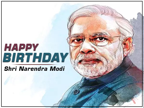 Here\s wishing the honourable Prime Minister, Narendra Modi ji, a very happy birthday