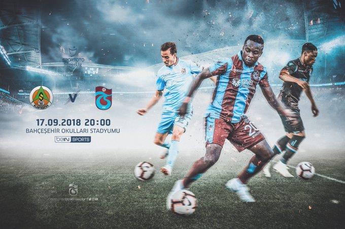 🔴 MAÇ GÜNÜ | MATCH DAY 🔵 ⚽️ Aytemiz Alanyaspor 🆚 Trabzonspor 🗓️ Pazartesi ⏰ 20:00 🏟️ Bahçeşehir Okulları Stadyumu 📺 beIN Sports 📲 #BugünGünlerdenTrabzonspor Fotoğraf