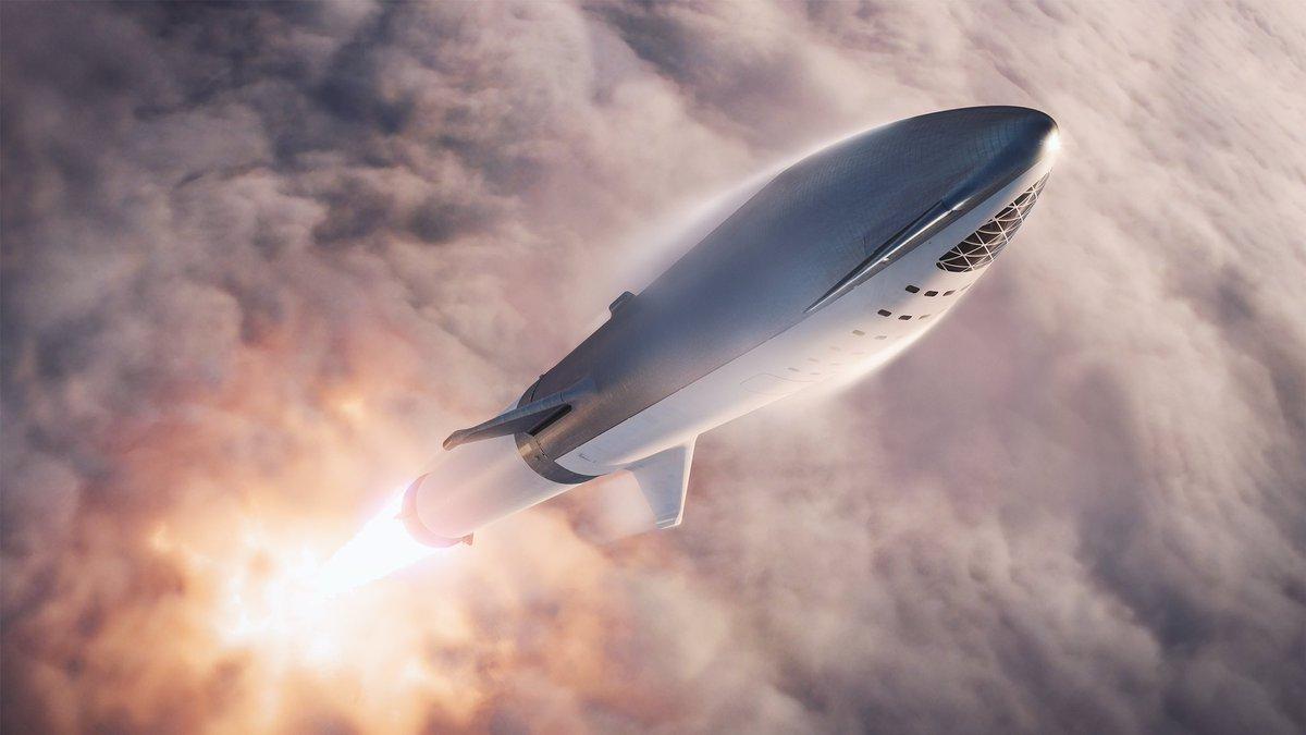 BFS, start na raketě BFR