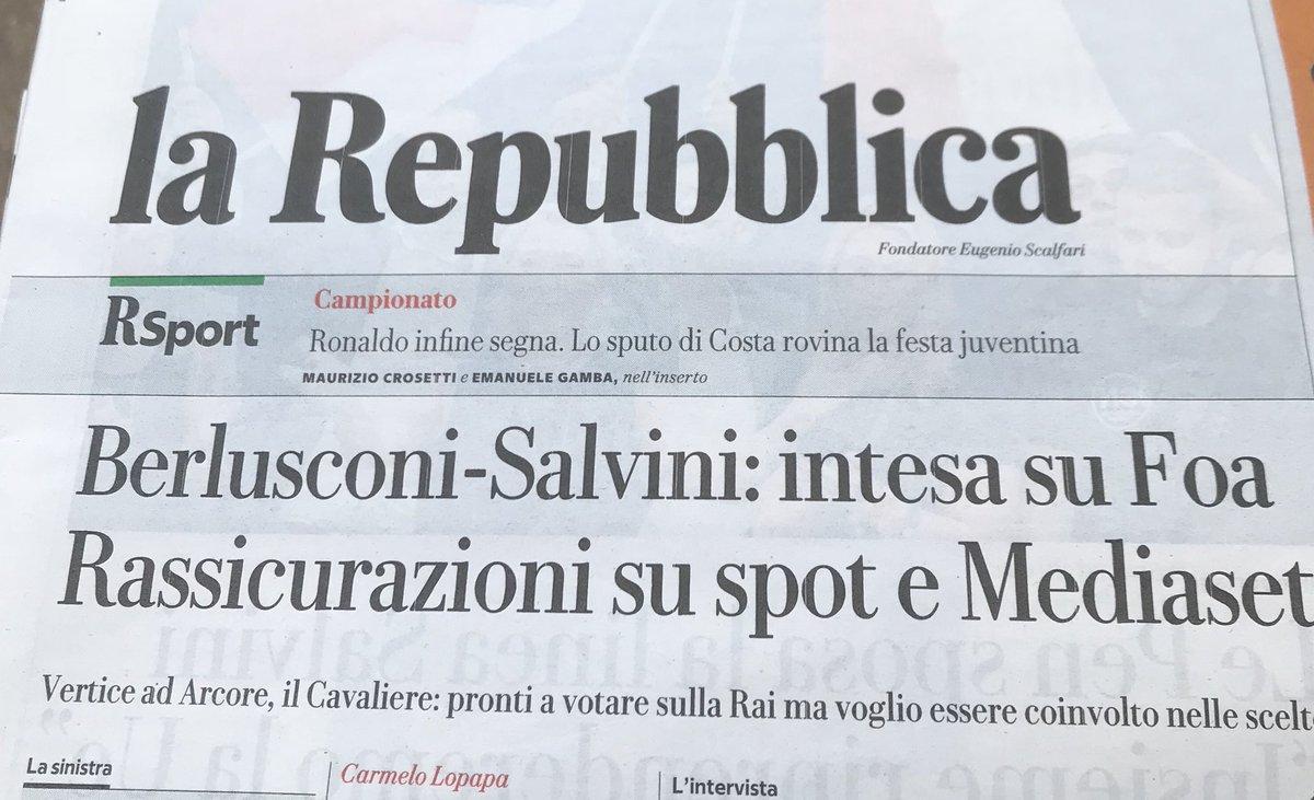 E mo chi glielo dice ai #grillini che si ritrovano al governo con lo #psiconano #Berlusconi ?!!?   - Ukustom