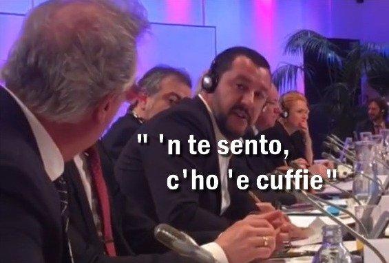 """#Lussemburgo ossessionato """"#Salvini? Fascista anni \"""