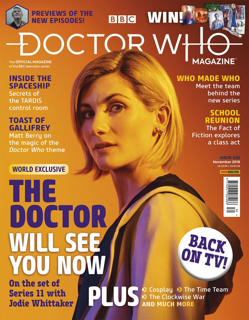 New Doctor Who Trailer Places Jodie Whittaker in Charge