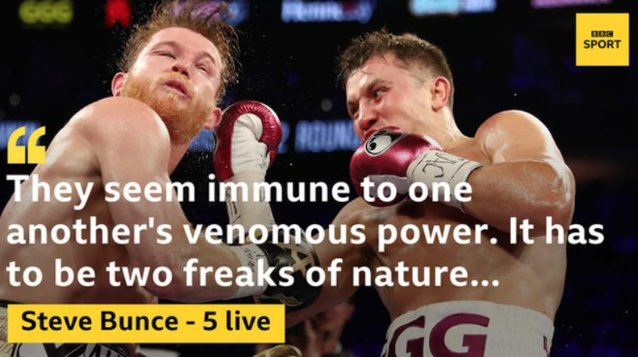 A perfect storm of resistance. 💪 Analysis on a #CaneloGGG2 battle that firmly finds a place in your boxing brain forever: Photo