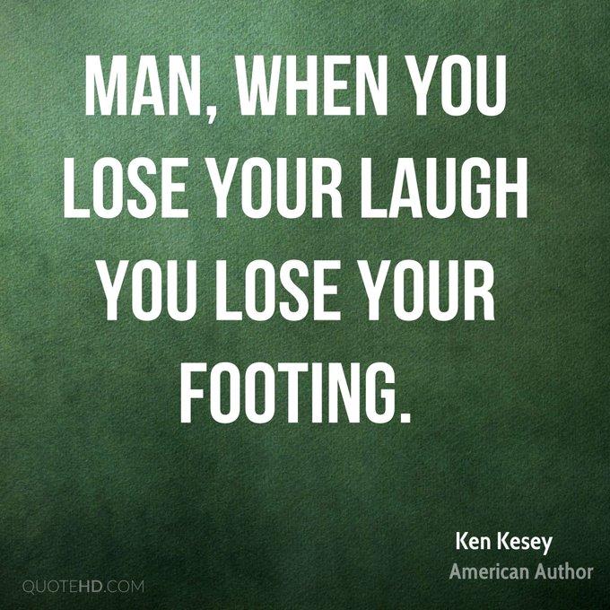 Happy Birthday to American novelist, Ken Kesey (1935).