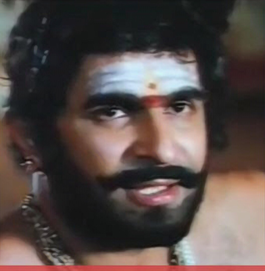 Pavanayi, of course; but his most powerful, most nuanced performance was as Aringodar in Oru Vadakkan Verragatha, imo. #RIPcaptainRaju<br>http://pic.twitter.com/MoOWJ2PbJu
